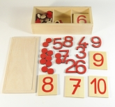 Cut-Out Numerals, Number Cards & Counters