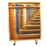 Complete Bead Material with Cabinet