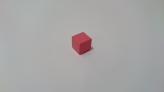 Replacement Pink Tower Cube (1 pcs)