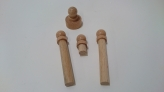 Set of Replacement Knobbed Cylinders (4 pcs)
