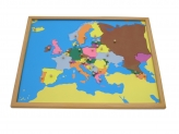 Puzzle Map with Frame: Europe