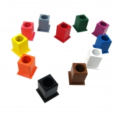 Set of 11 Colored Pencil Holders (Version 1)