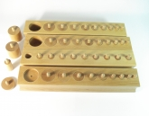 Set of 4 Cylinder Blocks