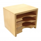 Geometric Form Card Cabinet