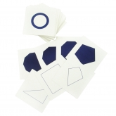 Geometric Form Cards